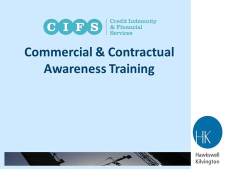 Commercial & Contractual Awareness Training
