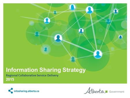 Information Sharing Strategy Regional Collaborative Service Delivery 2015.