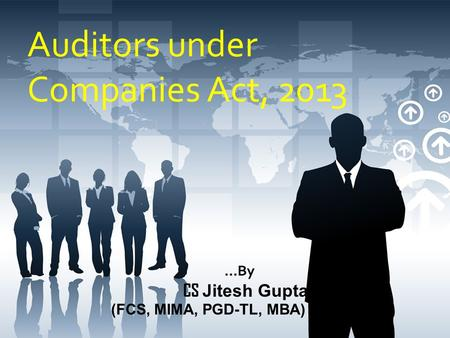 Auditors under Companies Act, 2013