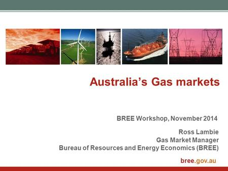 Australia's Gas markets