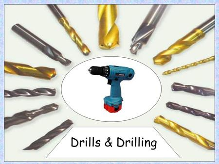 Drills & Drilling. The Pillar Drill can be used to drill wood, metal, and plastic. As a general rule the larger the hole you are trying to drill the slower.