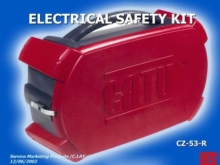 ELECTRICAL SAFETY KIT CZ-53-R