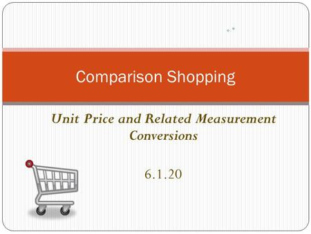 Unit Price and Related Measurement Conversions