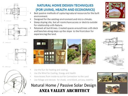 Natural Home / Passive <strong>Solar</strong> Design