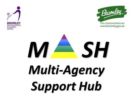 MSH M SH Multi-Agency Support Hub. Background and context Ensuring children and families receive help at the most appropriate level of need The Process: