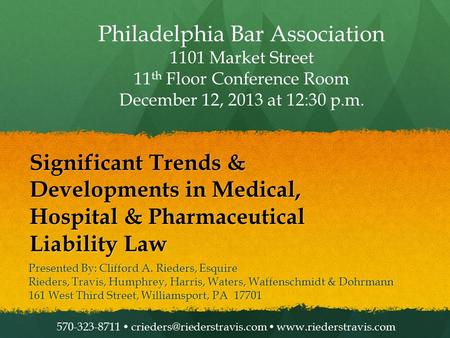 Philadelphia Bar Association