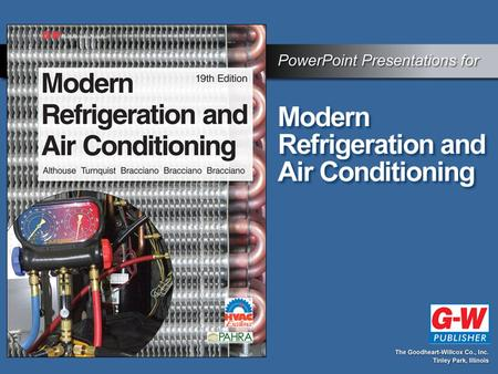 6 Introduction to Refrigerants Permission granted to reproduce for educational use only.© Goodheart-Willcox Co., Inc. Objectives Recognize the effect.