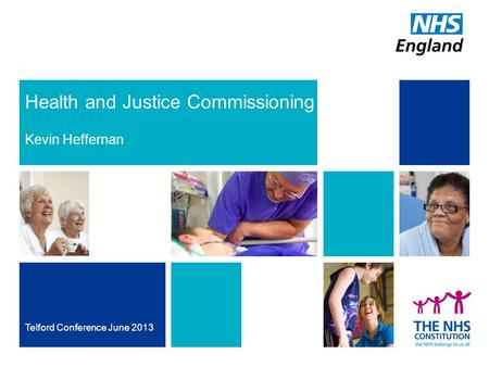 Health and Justice Commissioning