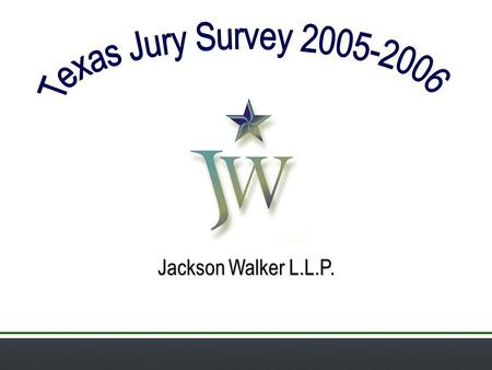 Jackson Walker L.L.P.. Fewer Trials 1962: 39 trials per year (18 crim/21 civ) 1987: 35.3 trials per year (13 crim/22.3 civ) 2002: 13.2 trials per year.