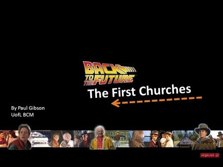 The First Churches By Paul Gibson UofL BCM. Where We Left Off… 18 Then Jesus came to them and said, All authority in heaven and on earth has been given.