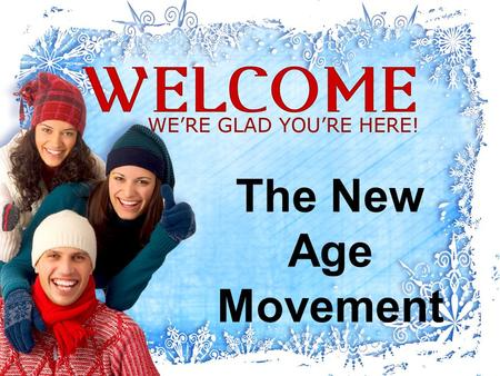 The New Age Movement. New Age A free-flowing spiritual movement A network of believers and practitioners Who share somewhat similar beliefs and practices.