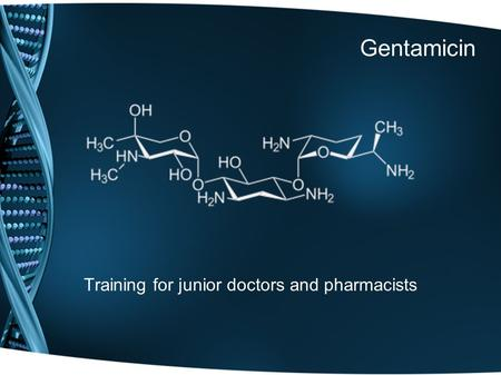 Training for junior doctors and pharmacists
