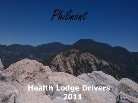 Health Lodge Drivers – 2011 Jennifer Baalmann, Whitney Trusty, Marcus Hook, Tyler Keller and Nick Allen.