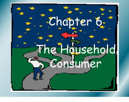 Chapter 6 The Household Consumer. What is a good Consumer? Choosing A brand False Economy Consumer Protection Consumer Legislation Helping the consumer.