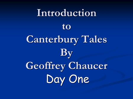 an analysis of the wife of the baths tale in the canterbury tales by geoffrey chaucer After analysis of chaucer's diction and historical context the wife of bath's tale the canterbury tales by geoffrey chaucer.