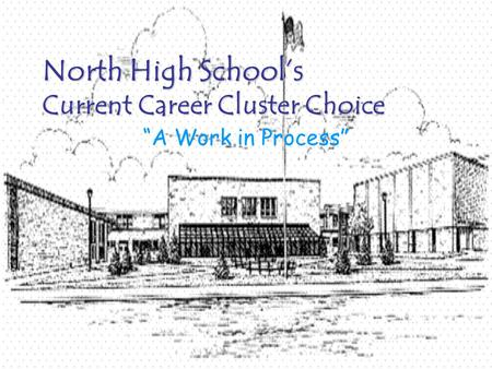 "North High School's Current Career Cluster Choice North High School's Current Career Cluster Choice ""A Work in Process"""
