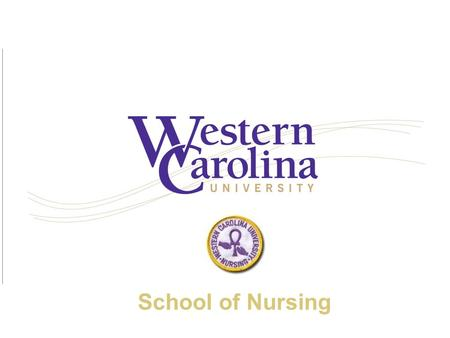 School of Nursing. In the beginning… The School of Nursing was established in 1969.