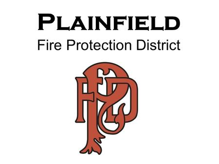 Plainfield Fire Protection District Scanned Patch Goes Here.