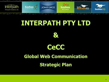 1 INTERPATH PTY LTD & CeCC Global Web Communication Strategic Plan.