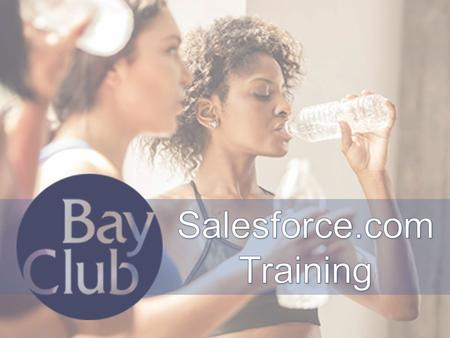 Salesforce.com Training.