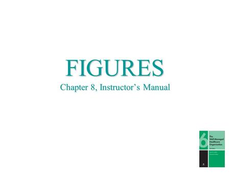 FIGURES Chapter 8, Instructor's Manual. © 2006 by John R. Griffith and Kenneth R. White.