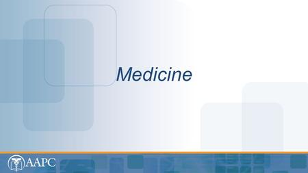 Medicine Medicine. Medicine CPT® copyright 2013 American Medical Association. All rights reserved. Fee schedules, relative value units, conversion factors.