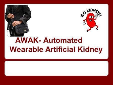 AWAK- Automated Wearable Artificial Kidney