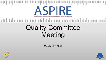 Quality Committee Meeting March 16 th, 2015. Agenda Review dashboards Measure updates Year 2 measures.