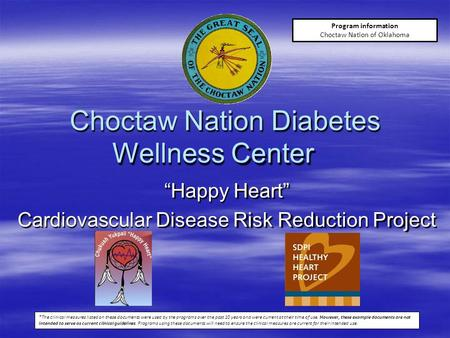 Choctaw Nation Diabetes Wellness Center