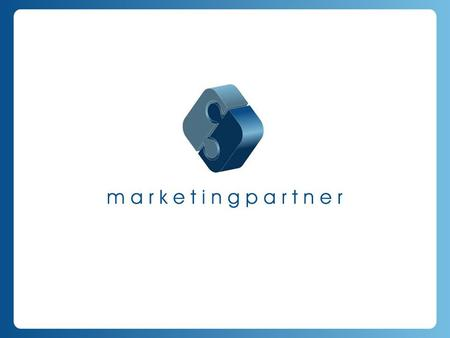 The new kind of … Marketing Partner Ltd. is an owner led advertising and marketing communication agency. After more then 7 years multinational background.