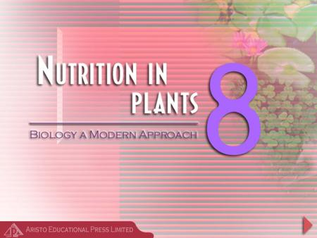 Review Question Which mode of nutrition do the green plants carry out?