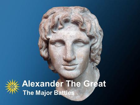 Alexander The Great The Major Battles. Division of the Army Cavalry Infantry Skirmishers.