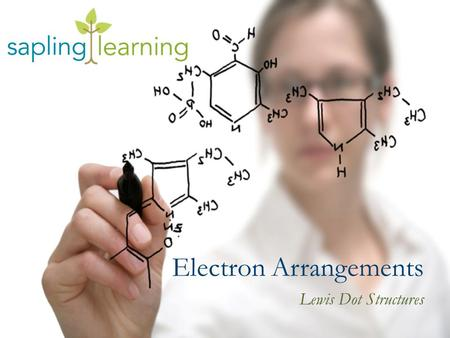Electron Arrangements Lewis Dot Structures. Learning Objectives Express the arrangement of electrons in atoms using Lewis valence electron dot structures.