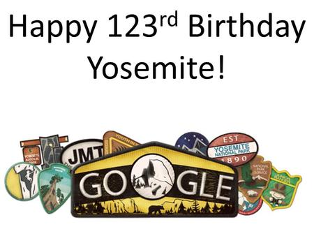 Happy 123 rd Birthday Yosemite!. Key Ideas Purpose of nitrogen and phosphorus Why extra nitrogen and phosphorus is added to soil Different types.