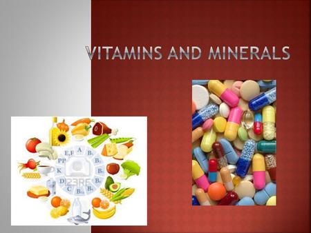 Slide 2 of 27 One of the first discoveries of the importance of vitamins came in the 1700s. A Scottish doctor, James Lind, discovered that sailors who.