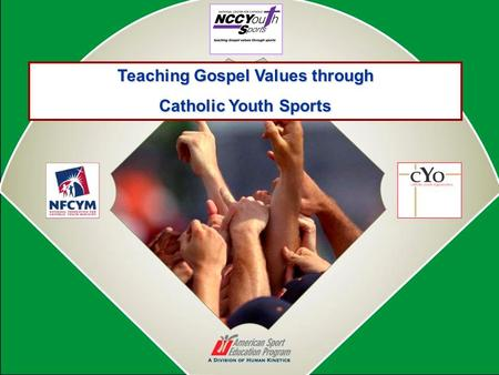 Teaching Gospel Values through Catholic Youth Sports.