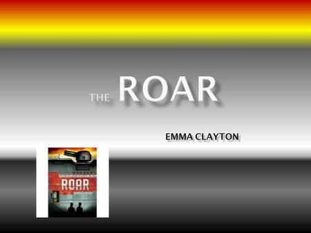 EMMA CLAYTON. This story takes place in London in the future behind a giant wall built around the top one-third of the Earth. The planet is over populated.