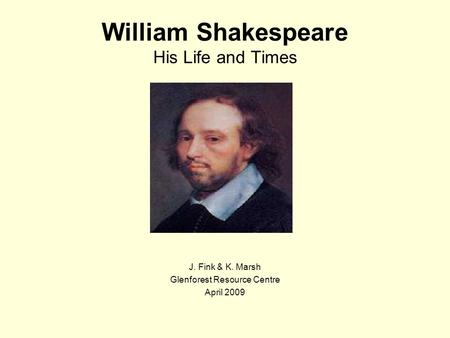 william shakespeare essay his life Read shakespeare free essay and over 88,000 other research documents shakespeare personal life his life was a good one.