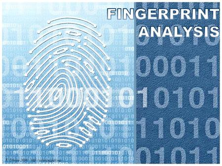 FINGERPRINT ANALYSIS T. Trimpe 2006 http://sciencespot.net.