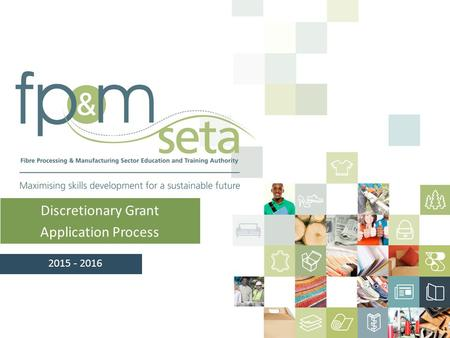 Discretionary Grant Application Process 2015 - 2016.