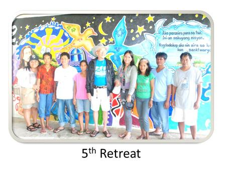 5 th Retreat. Evidences of behavior change Report of police officers and FLET re hotline reporting (PNP blotter) Anecdotal evidences from the locals Popularity.