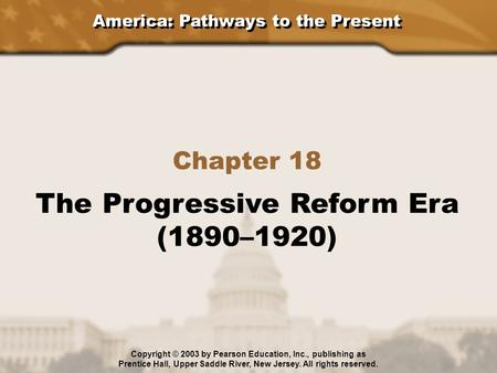 the origins and history of the progressive reform movement So the path to progressive reform was generated by the widespread discontent in  the nation upon which the populist party was founded william mckinley was.