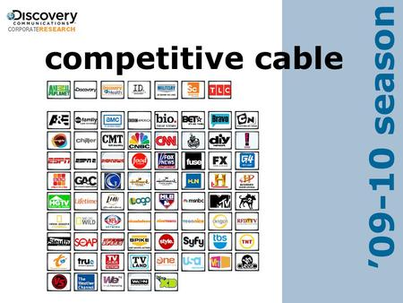 Competitive cable '09-10 season. 1 3Q 00 Competitive Cable Overview.