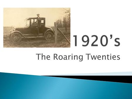 The Roaring Twenties.  Nellie Taylor Ross – 1 st Female Governor, Wyoming 1924  Miriam Ferguson – 2 nd, Texas.