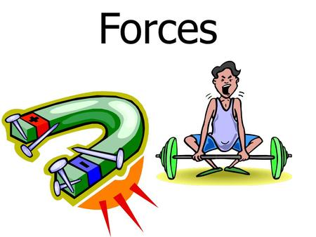 Forces. Objective: TSW – Identify and describe the changes in position, direction, and speed of an object when acted upon by unbalanced forces. 6.8A.