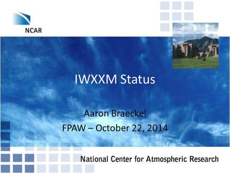 Aaron Braeckel FPAW – October 22, 2014