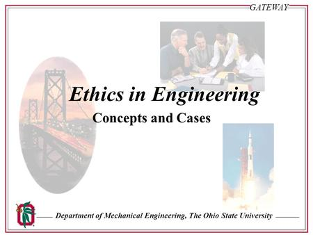 Ethics in Engineering Concepts and Cases