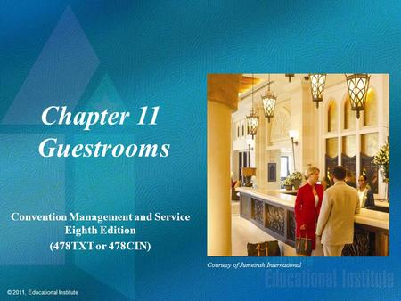 Competencies for Guestrooms