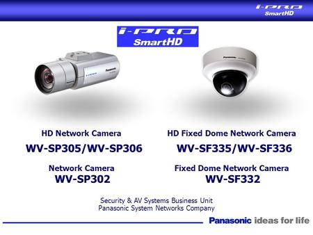 HD Fixed Dome Network Camera Fixed Dome Network Camera