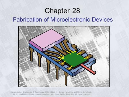 kalpakjian manufacturing engineering and technology pdf